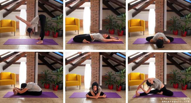 makko-ho esercizi di stretching dei meridiani