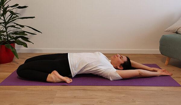 stretching stomaco e milza pancreas